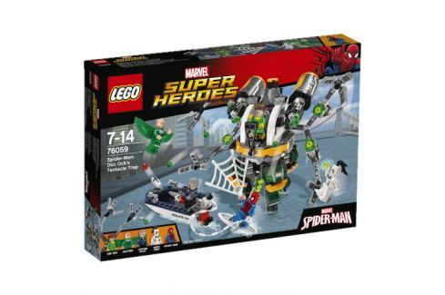 LEGO® Super Heroes 76059 Spiderman: Past z chápadiel doktora očka