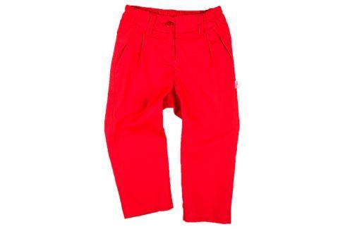 MMDadak Dievčenské nohavice KOKARDK - červené