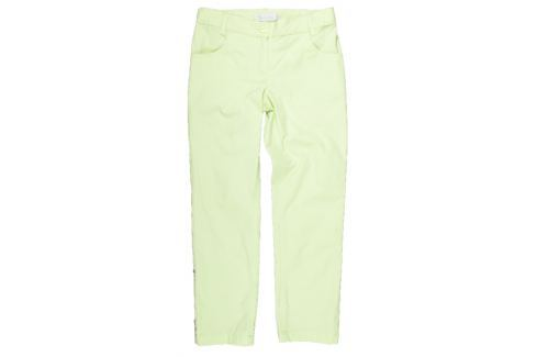 MMDadak Dievčenské nohavice Princess - svetlo zelené