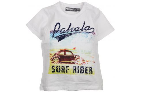 Dirkje Chlapčenské tričko Surfer Rider - biele