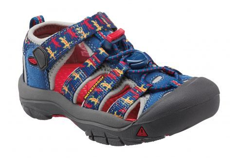 Keen Chlapčenské outdoorové sandále Newport H2 INF, true blue lizard