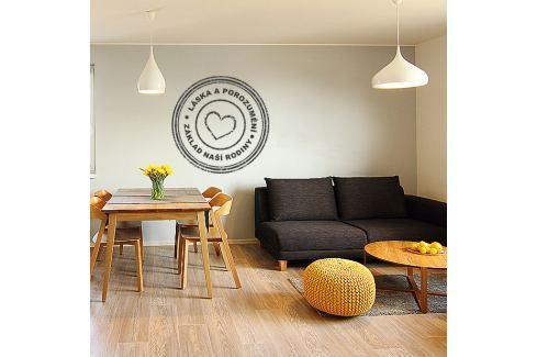 Housedecor Samolepka na stenu - Láska a porozumenie - naša rodina