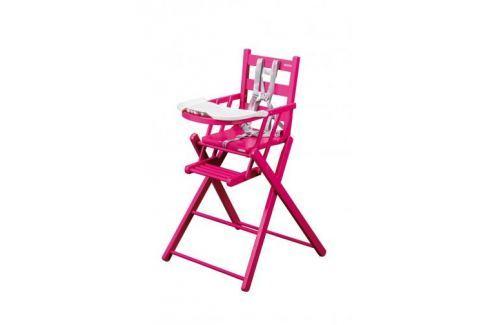 Combelle Skladacia jedálenská stolička, vínová