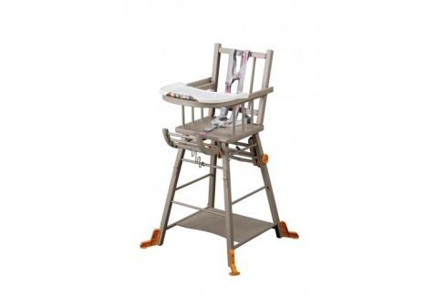 Combelle Skladacia jedálenská stolička, sivá