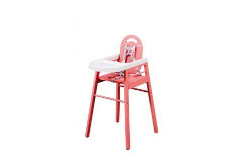 Combelle Jedálenská stolička Lili, ružová