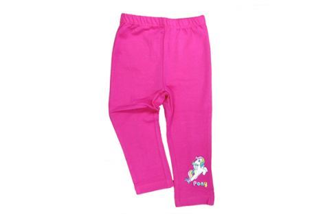 E plus M Dievčenské legíny Pony - ružové