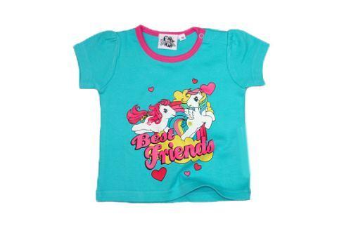 E plus M Dievčenské tričko My little Pony - tyrkysové