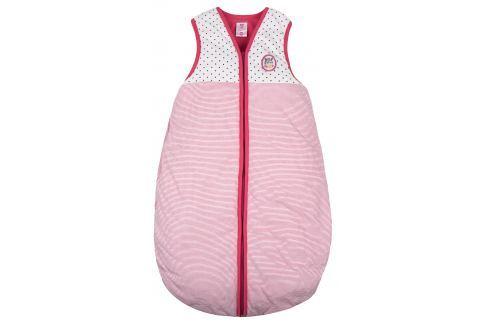 G-mini Dievčenský spací vak Zebra - ružovo-biely