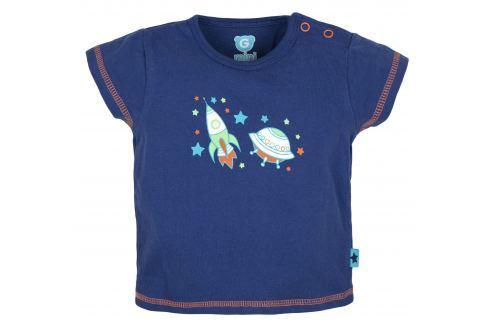 G-mini Chlapčenské tričko Raketa - modré