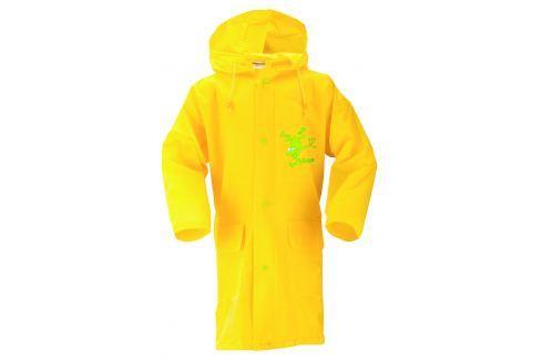 LOAP Detská pláštenka Smoky - žltá