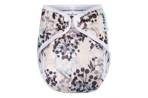 T-tomi Vrchné nohavičky, sivé kvetinky