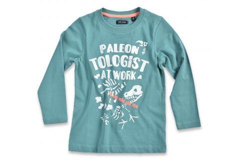 Blue Seven Chlapčenské tričko Paleontologist - zelené
