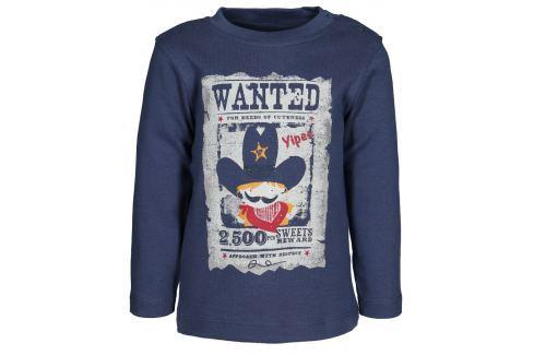 Blue Seven Chlapčenské tričko Wanted - tmavo modré