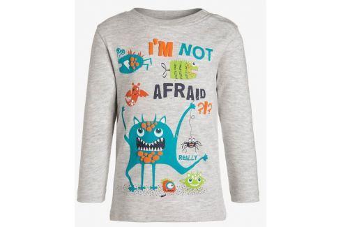 Blue Seven Chlapčenské tričko Im not afraid - šedé
