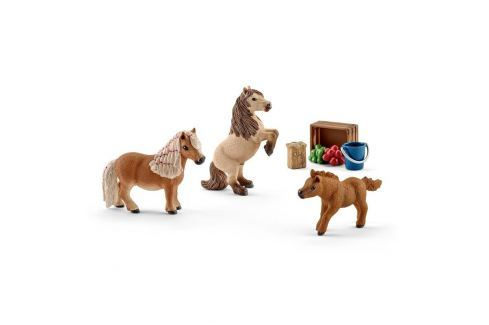 Schleich Súprava 2016 - Shetlandské poníky 3 ks
