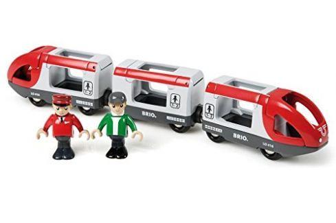 Brio Osobný vlak s vagónikmi