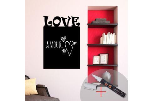 Ambiance Detská samolepiaca tabuľa Love
