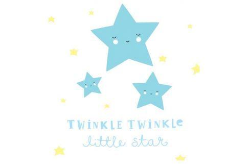 Little Lovely Company Samolepka na stenu, Twinkle, twinkle little star