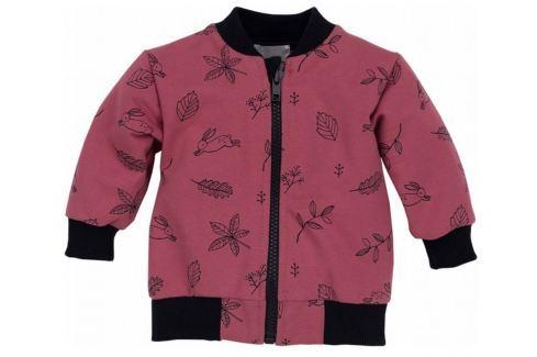 Pinokio Dievčenský kabátik Colette - červený