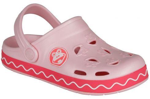 3e0363192fa8 Výpredaj Coqui Dievčenské sandále Froggy - svetlo ružová   ružová ...