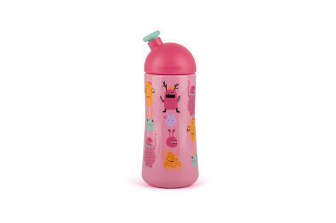 Suavinex Tretia fľaša so športovým náustkom BOOOM 360ml, ružová