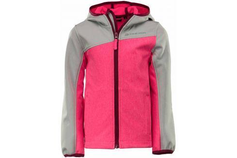 ALPINE PRO Detská bunda BELLO - ružová