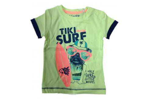 Carodel Chlapčenské tričko Surf - zelené