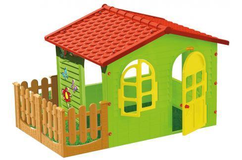 d2210f53d57d7 Výpredaj MOCHTOYS Detský záhradný domček s plotom veľký - Kupli.sk