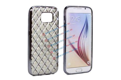 Výpredaj FORCELL Silikónový obal Samsung Galaxy S7 čierny LUXURY ... 5640cd9354e