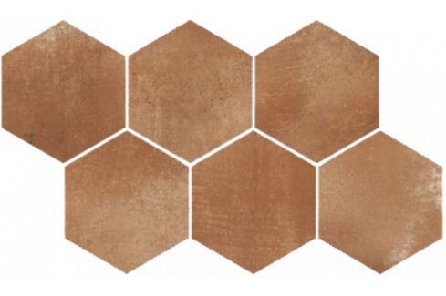 Dekor Rako Via hnedá 21x37 cm, mat, rektifikovaná FINEZA46642