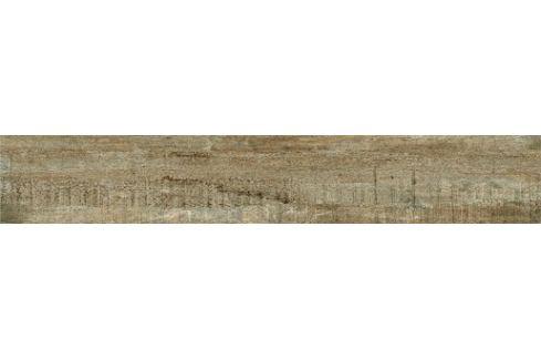 Dlažba Dom Barn Wood brown 16x100 cm mat DBW1660