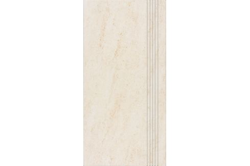 Schodovka Rako Pietra svetlo béžová 30x60 cm, mat, rektifikovaná DCPSE628.1