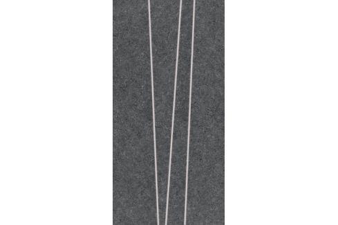 Dekor Rako Rock čierna 30x60 cm, mat, rektifikovaná DDVSE635.1