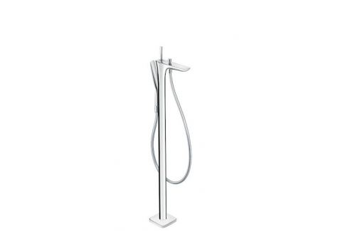 Vaňová batéria podlahová Hansgrohe Puravida so sprchovacím setom 15473000
