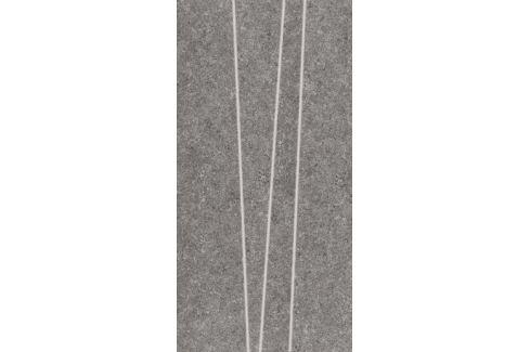 Dekor Rako Rock tmavo šedá 30x60 cm, mat, rektifikovaná DDVSE636.1