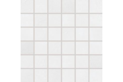 Mozaika Rako Clay biela 30x30 cm, mat, rektifikovaná DDM06638.1