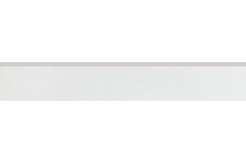 Sokel Rako Fashion biela 10x60 cm, mat, rektifikovaná DSAS4622.1