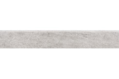 Sokel Rako Pietra šedá 10x60 cm mat DSAS4631.1