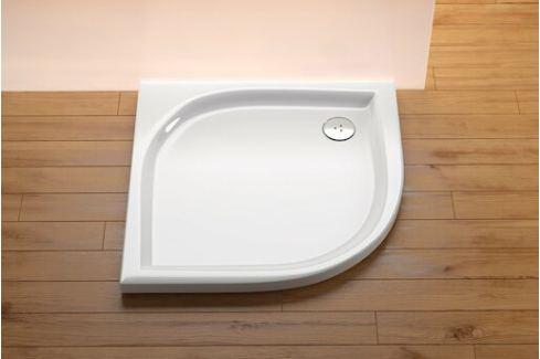 Sprchová vanička štvrťkruhová Ravak Elipso 100x100 cm, R 500, akrylát EL100LA0