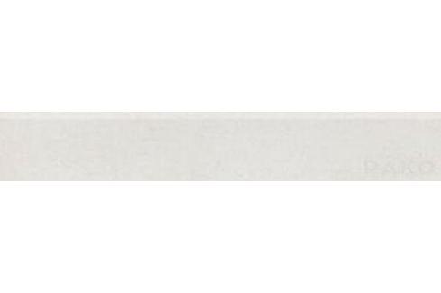 Sokel Rako Unistone bianco 10x60 cm, mat DSAS4609.1