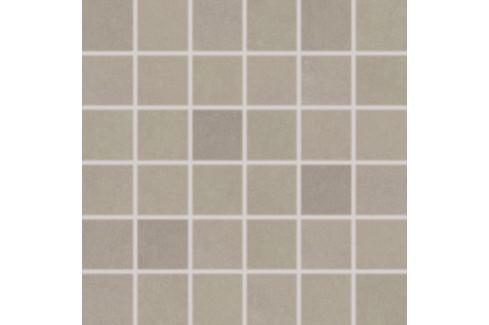 Mozaika Rako Clay šedobéžová 30x30 cm, mat, rektifikovaná DDM06640.1