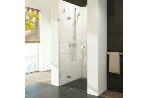 Sprchové dvere Ravak Brilliant jednokrídlové 80 cm, sklo číre, chróm profil, ľavé BSD280TCRL