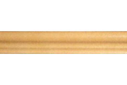 Schodová tvarovka Exagres Torelo karamel 5x36 cm, mat SCHODT035