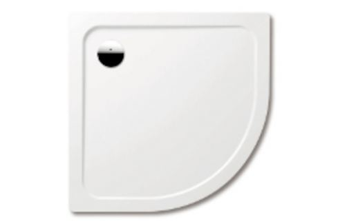 Sprchová vanička štvrťkruhová Kaldewei Arrondo 90x90 cm, R 550, smaltovaná ocel KW8711