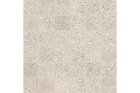 Mozaika Rako Stones hnedá 30x30 cm, mat, rektifikovaná DDM06669.1