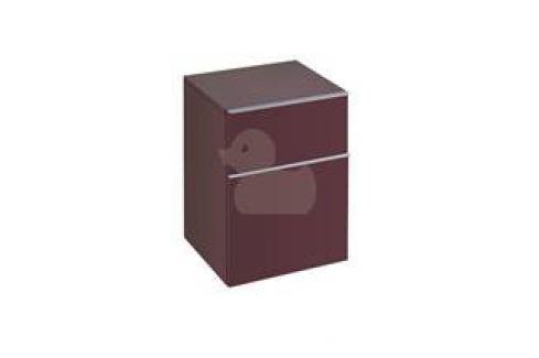 Nízka skrinka Keramag Icon, burgundy 840046000