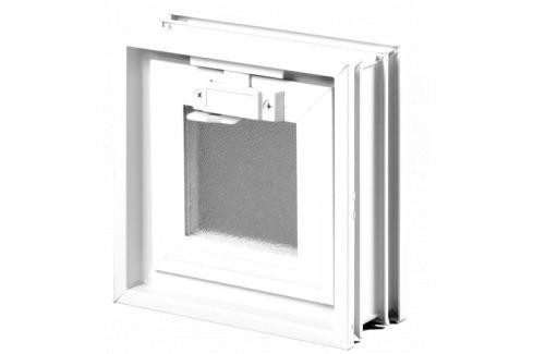 Vetracie okno Glassblocks biela 19x19 cm plast GBMR1919