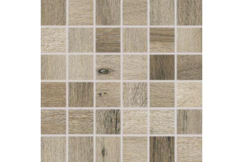 Mozaika Rako Saloon tmavo hnedá 30x30 cm mat DDM06748.1