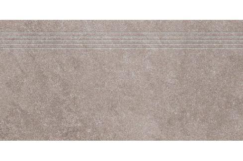 Schodovka Rako Kaamos béžovošedá 40x80 cm mat DCP84589.1