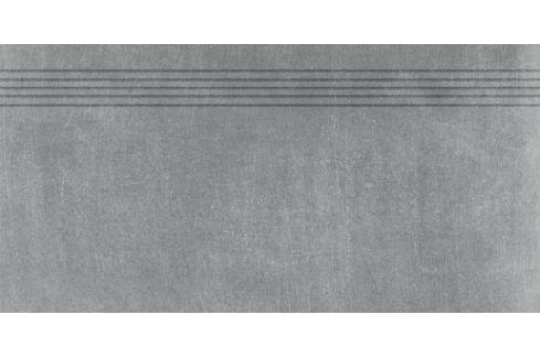 Schodovka Rako Rebel tmavo šedá 40x80 cm mat DCP84742.1